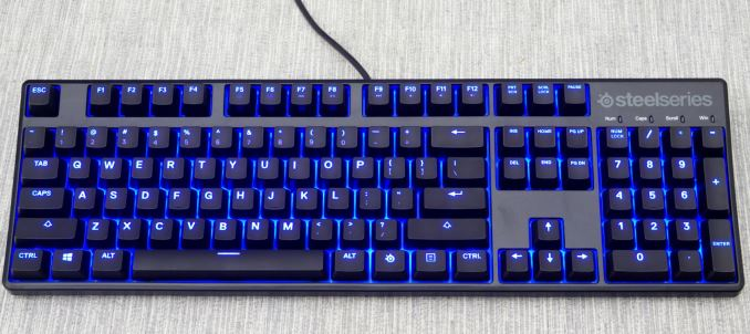 SteelSeries Apex M500 Gaming Mechanical Keyboard Review