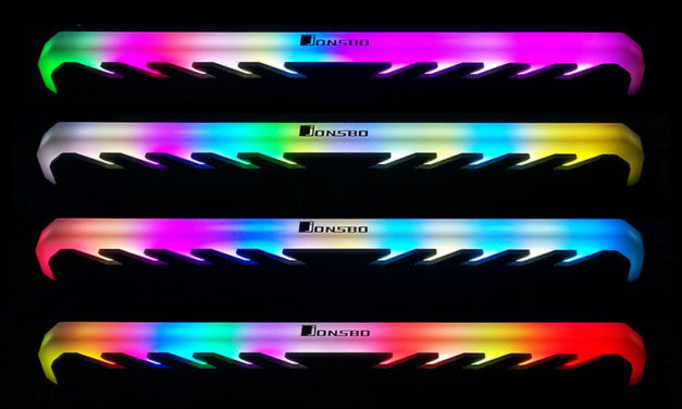 Jonsbo NC-1 Heatspreader : Add RGB Bling To Your Basic DDR4 Ram