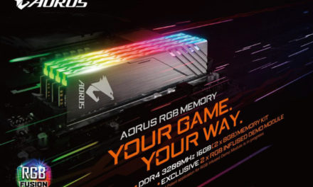 Gigabyte Releases Aorus RGB Memory with Dummy Kits