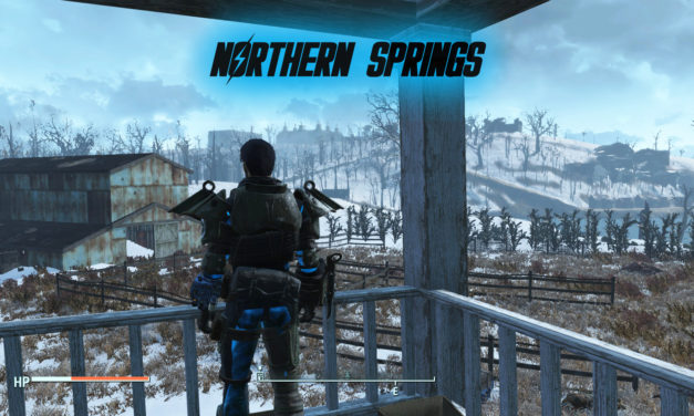 Fallout 4 Northern Springs is a huge fan DLC with snowy new area