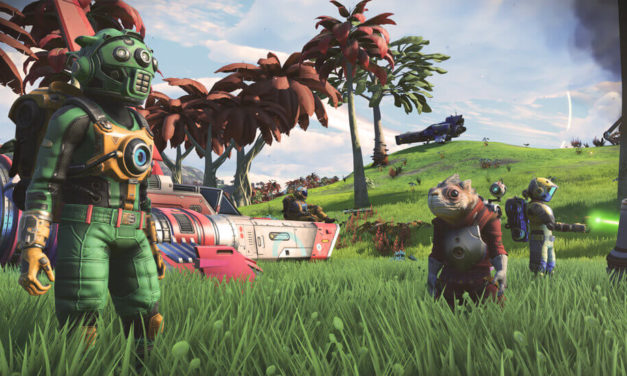 No Man's Sky NEXT Trailer shows true Multiplayer, Hits next week