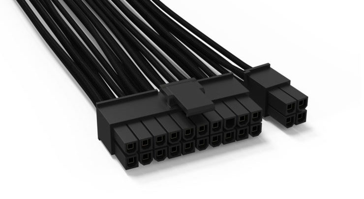 13adc881e076 Be Quiet! Expands PSU Cables Line Up To All Black Modular Cables ...